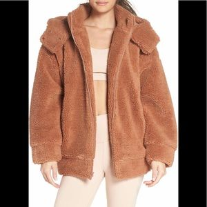 ALO Yoga Norte Sherpa Coat NWT